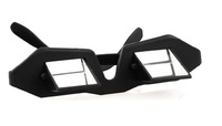 Lounged glasses myopia horizontal cervical glasses