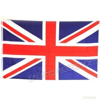 Free Shipping & New Design UK National Fashion Flag Polyester Stripe Flags Fit Decoration 90*150cm 120408