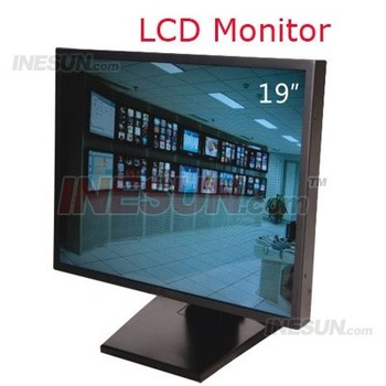 19 Inch TFT LCD YPbPr VGA 1080P HDMI Port CCTV Monitor with two Audio input port