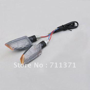 4PCS  x  11 LED Motorcycle Turn Signal Light Lamp Orange New