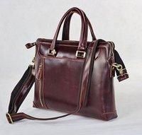 JMD Vintage Genuine real leather  Men buiness handbag  laptop briefcase  shoulder bag  / man messenger travel bag  JMD7137C-317