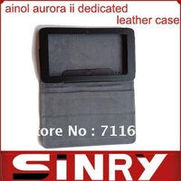 "7"" tablet ainol aurora ii dedicated leather case"