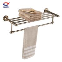 Gweat fashion antique towel rack space aluminum towel rack bathroom shelf hardware accessories wire