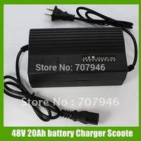 Black 48V volt 20Ah battery Charger Scooter bike Fit Razor New