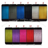 For iphone 5 5G, TOP Quality Fashion Design, Plastic & Aluminum 100pc/Lot DHL Free Shipping