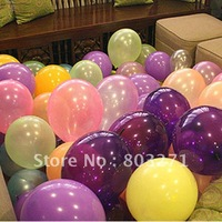 10'' Pearl Latex Balloon,Birthday party marry pearl balloon,Christmas Decoration Balloons,Mixed Colors or Singal Colors