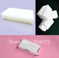 Wholesale free shipping Magic Sponge Eraser Melamine Cleaner,multi-functional sponge for Cleaning100x60x20mm 200pcs/lot