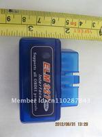 super mini ELM327 bluetooth obd2 support smartphone iphone and PC/blue elm327 bt