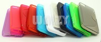 100% Brand New High Quality S Line Soft TPU Case For Iphone 5 5G 700pcs/lot