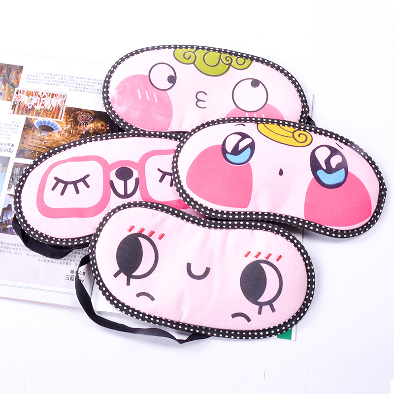 Big discount Cartoon dodechedron sleeping eye mask cooler bag blindages c776 Gaga Sales Christmas Halloween(China (Mainland))