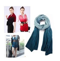 wholesale Lady 's Sweaters Long Warp Knitting Magic Scarf  free shipping