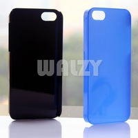 300pcs/lot New Arrival! Transparency Clear Crystal Hard case for iPhone 5 free shipping