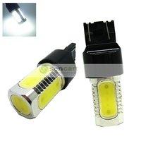 T20  (W21W)  7440 7.5W high power 5-LED 330~380lm 6500K White light Tail Brake bulbs New