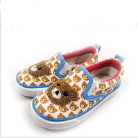Warrior WARRIOR children shoes male female child canvas shoes pedal bear pattern 7555