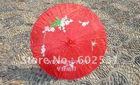 Red red Technology umbrella, dance umbrella, silk umbrella