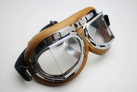 Wholesale Aviator Pilot Cruiser Motorcycle Scooter ATV Goggle Eyewear T08Y Clear Lens free shipping
