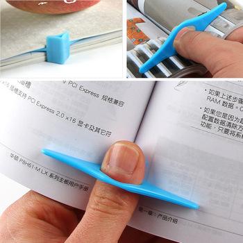 E6644 multifunctional thumb book bookmark good helper for single