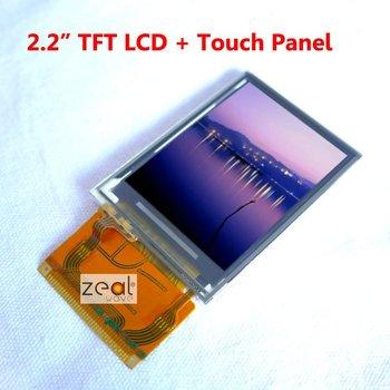"2.2"" 2.2 inch TFT LCD Module + Touch Panel Screen 240 x 320 Dots ILI9320 Free Shipping"