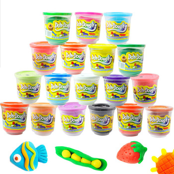 2012 Christmas Gift t Baby Child Toys Plasticine Clay 3D Play Dough Educational Toys KC50002 ,wrting color in order,pcs/sale