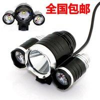 3 xml-t6 lights super bright t6 lights 15w high power led bicycle lamp 3600 Lumen