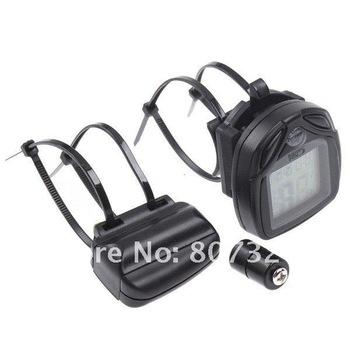 3pcs Wireless LCD Cycling Computer Bicycle Bike Meter Speedometer Odometer