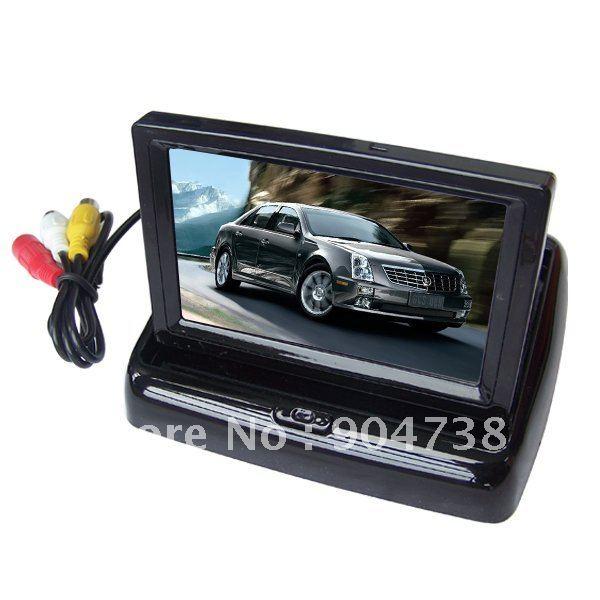 "Wireless Car Camera Kit Vehicle Reverse Parking Assistance Kit Camera System 4.3"" LCD Monitor(China (Mainland))"