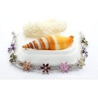 L88044 luxury high-end eight knot flower zircon bracelet Zircon bracelets