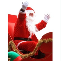 Free Shipping Santa suit man clothing ,men's clothing Non-woven fabrics / Christmas men clothes Christmas gift / ornament