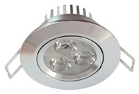 3Watt  LED spot  light  Super bright housing pure alluminum 2 Years warranty