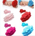 2012 new cute 4 color children skirt + Lovely Headband suits girls skirt suits two pieces suits kids wear