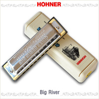 free shipping Hohner big river blues harmonica rough
