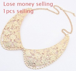 Cheap sell !!Factory price,2013 fashion jewelry,Classic Korean jewelry,Retro/Vintag edelicate patterns fashion collar necklace(China (Mainland))