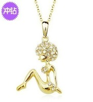 Wholesale Bikini explosion head belle necklace female short design 2012 accessories