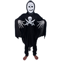 Masquerade halloween clothes pirate sickle clothes skull mask