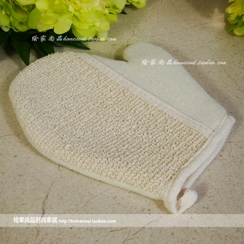 Quality bath products exquisite bath gloves scrubbing gloves bathwater bathroom supplies