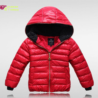 Free shipping! 2012 child down coat child short design slim down coat casual down outerwear