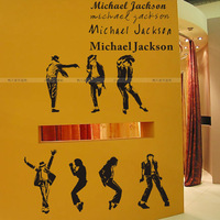 Ktv bar decoration stickers mj michael . personalized wall stickers