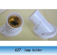 E27 Wall Lampholder with angle base screw type e27 lamp socket 10pcs
