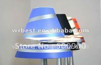 Aluminum magnet rotating gift lamp