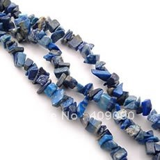 ,Strand String Lapis Lazuli Tumble Chip Beads 85cm,Fashion Chip Gemstone Bead,Free Shipping(China (Mainland))