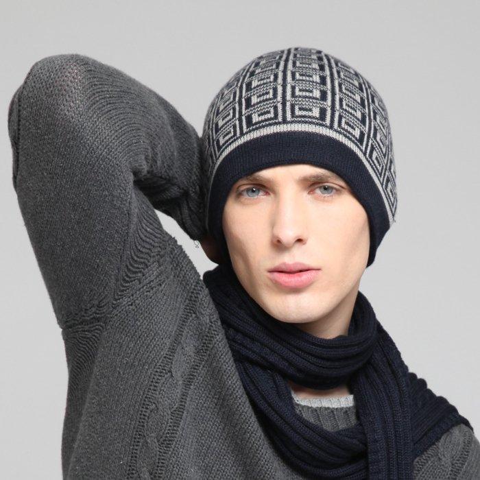 Free Shipping font b Men s b font font b Winter b font Wool font b - Winter Caps For Men