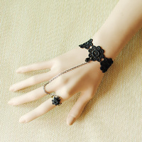 Diy vintage royal bracelet lace strap female fashion accessories