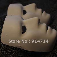 One size fits all Jabbawockeez mask white hip-hop mask