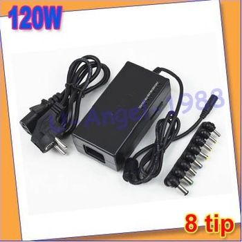 Register free shipping!! 120W universal charger AC power adapter For PC
