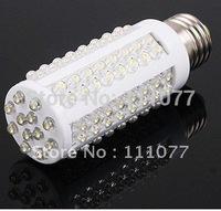 Free Shipping Nice 7W 108 LEDs Corn Energy Saving Light Bulb Lamp E27 110V~240V Warn White