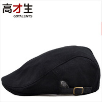 Free shipping women's male hat spring and autumn solid color cap hunting cap