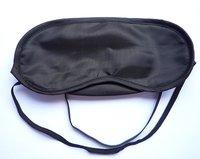 10PC Black Silk Sleep Eye Rest Eye Shade Sleeping Mask