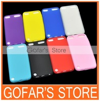 Colorful Plain Silicon Case for iPod Touch 5 100pcs/Lot Top Quality