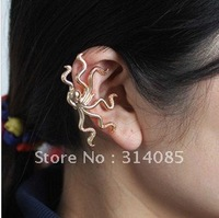 Min.order is $15 (mix order) Europe octopus ear clip earrings  E210