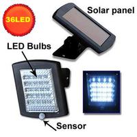 36led infrared sensor light human body induction lamp flodlit solar street light